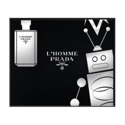 Prada L'Homme 50ml EDT Spray / 100ml Shower Cream